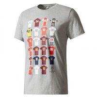 T-shirt ch league history marki Adidas