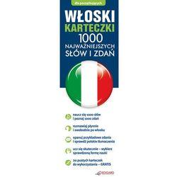 Włoski fiszki 1000 najważniejszych słów i zdań + CD-ROM - szczegóły w SELKAR