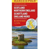 Szkocja Anglia Północna mapa samochodowa 1:300 - MARCO POLO