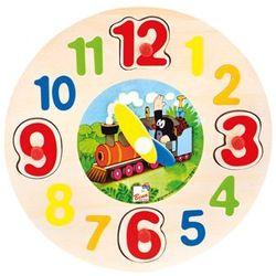 Bino zegar drewniany - krecik (4019359137516)