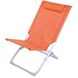 Składane krzesło plażowe pro beach, leżanka ogrodowa marki Emako