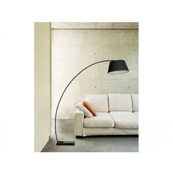 Lampa podłogowa Olav AZzardo, kolor czarny