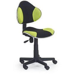 krzesło dziecięce FLASH CZARNO-ZIELONY
