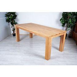 Stół z drewna tekowego - 180 x 90 x 77 cm
