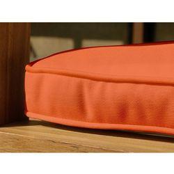 Wygodna poduszka do ławki 150 cm - 139x50x5cm ceglasta (4260198855882)