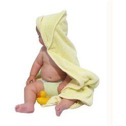 Close, Dwustronny Ręcznik z Chłonnego Bambusa - 90cmx90cm Żółty - sprawdź w wybranym sklepie