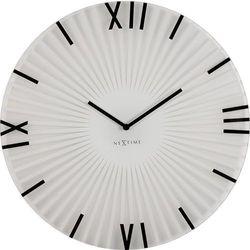Nextime Zegar ścienny sticks  43 cm, biały