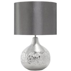 Nowoczesna lampka nocna - lampa stojąca w kolorze srebrnym - YAKIMA (4260580923076)