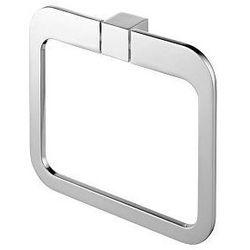 Wieszak owalny kolekcji futura silver 02996 marki Bisk