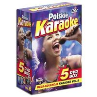 Polskie Karaoke VOL. 6 - Mega Kolekcja Karaoke (5 płyt DVD) (5902143782780)