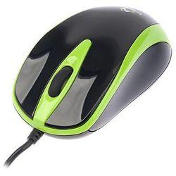 Mysz przewodowa TRACER Scorpion TRM-153 optyczna USB czarno-zielona, CZQTNAG00680