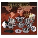 GARNKI VILLENBERG ECSLUSIVE 17 ELE. VB-1717