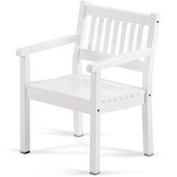 Skagerak denmark Skagerak ancher - krzesło ogrodowe - fotel - biały, kategoria: krzesła ogrodowe