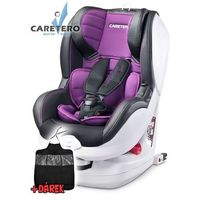 Caretero Fotelik samochodowy  defender plus isofix purple 2016