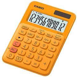 Kalkulator CASIO MS-20UC-RG-S Pomarańczowy (4549526700057)