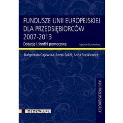 Fundusze Unii Europejskiej dla przedsiębiorców 2007-2013, pozycja wydawnicza