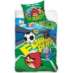 Tip trade dziecięca bawełniana pościel angry birds piłkarski, 140 x 200 cm, 70 x 80 cm marki 4home