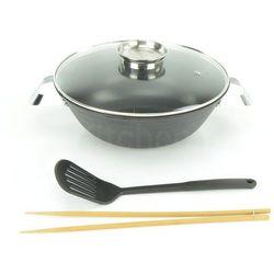 Peterhof Patelnia wok żeliwna  30cm z akcesoriami [ph-15361-30] (9120047394045)