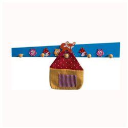 Bieco  wieszak lisek z kieszonką, kategoria: dekoracje i ozdoby dla dzieci