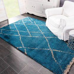 Dekoria dywan royal indian blue 160x230cm, 160x230cm