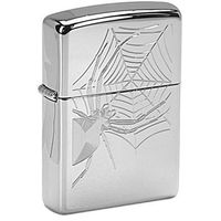 Zapalniczka ZIPPO Spider, High Polish Chrome (Z22449)