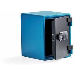 Szafa ognioodporna ADORE, 520x410x445 mm, niebieski