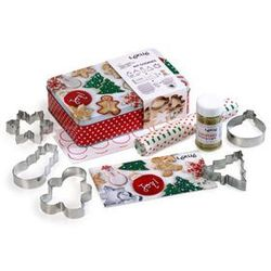 Zestaw świąteczny do pieczenia pierniczków i ciasteczek Lekue - produkt z kategorii- Formy do pieczenia