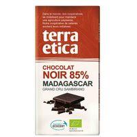 CZEKOLADA GORZKA 85% MADAGASKAR FAIR TRADE BIO 100 g - TERRA ETICA, 3483981900052 (6206107)