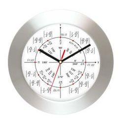 Zegar ścienny aluminiowy geometria, AL2412MG1