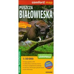 Mapa Laminowana ExpressMap Puszcza Białowieska 1:50 000 comfort! map, pozycja wydana w roku: 2012