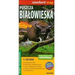 Mapa Laminowana ExpressMap Puszcza Białowieska 1:50 000 comfort! map (2012)