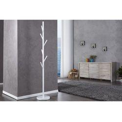 King home Wieszak stojący tree biały - metal