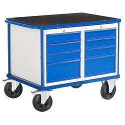 Wózek warsztatowy Mobile z 2 szafkami, 1000x700 mm, 28018