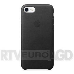 Apple Leather Case etui do iPhone 7 (czarny) - produkt z kategorii- Futerały i pokrowce do telefonów