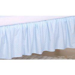 Mamo-tato falbanka do łóżeczka słonik błękitny