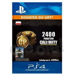 Call of Duty: Infinite Warfare - 2400 punktów [kod aktywacyjny] z kategorii Pozostałe akcesoria do konsoli