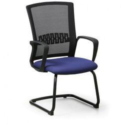 Krzesło konferencyjne Roy, niebieski