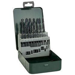 Zestaw wierteł do metalu BOSCH HSS-R 1-10 mm (19 elementów) z kategorii pozostałe narzędzia elektryczne
