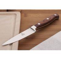 GERPOL Nóż do warzyw, obierak NKB5 9 cm z drewnianą rękojeścią