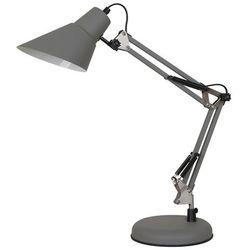 Lampka biurkowa Jason 1 x 40 W E27 grey/satyna (5900644436324)