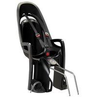 fotelik rowerowy zenith szary, czarna wyśció marki Hamax