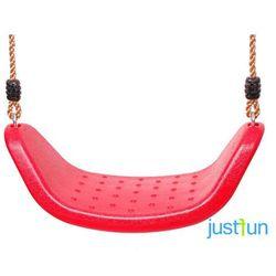 Huśtawka plastikowa LUX - czerwony z kategorii Huśtawki ogrodowe