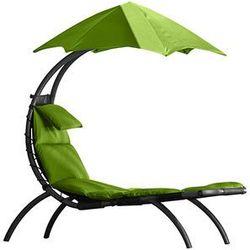 Leżak hamakowy, Zielony DRMLG, towar z kategorii: Leżaki ogrodowe