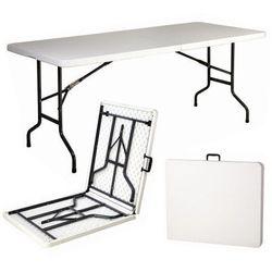 Stół prostokąt 180x76cm składany lux dobrebaseny