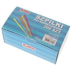 GoDan, Fasolki, szpilki do koreczków, mix kolorów, 200 szt.