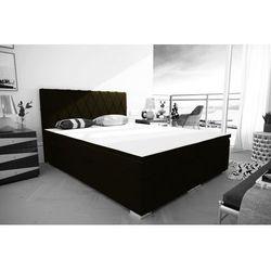"""Łóżko kontynentalne """"RIVIERA"""" 180x200 - musztardowy"""
