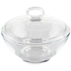 Pasabahce aqua cukiernica szklana z/p 13 cm