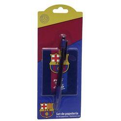 FC Barcelona, zestaw piśmienniczy, 2 elementy, towar z kategorii: Pozostałe artykuły szkolne i plastyczne