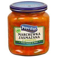Provitus  520ml marchewka zasmażana z groszkiem