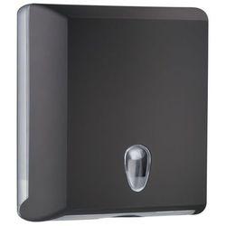 Pojemnik na ręczniki papierowe składane M Marplast plastik czarny - sprawdź w wybranym sklepie